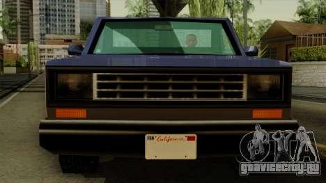 Bobcat from Vice City Stories IVF для GTA San Andreas вид сзади