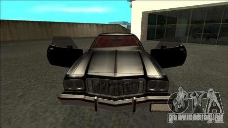 Ford Gran Torino Drift для GTA San Andreas вид изнутри