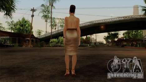 RE5 Excella Gione для GTA San Andreas третий скриншот