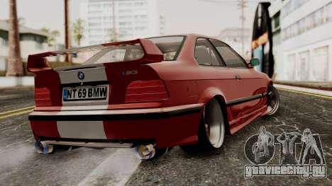 BMW M3 E36 Strike для GTA San Andreas вид слева