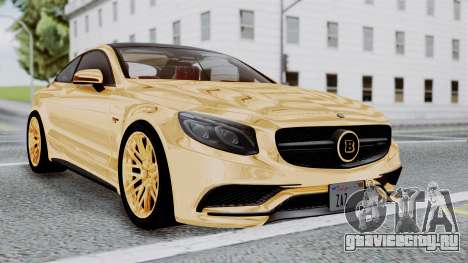 Brabus 850 Gold для GTA San Andreas