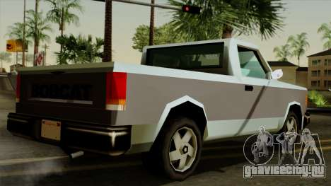 Bobcat from Vice City Stories для GTA San Andreas вид слева