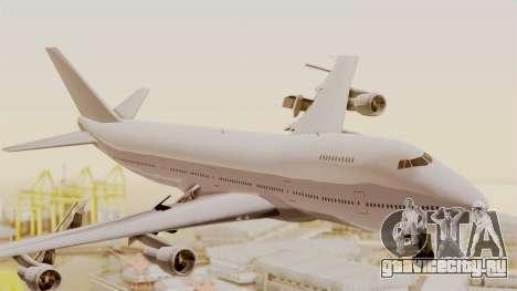 Boeing 747 Template для GTA San Andreas