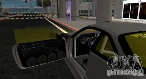 Nissan Silvia S14 JDM v0.1 для GTA San Andreas вид сзади слева