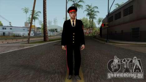 Вице-сержант Казанского Суворовского Училища v1 для GTA San Andreas второй скриншот
