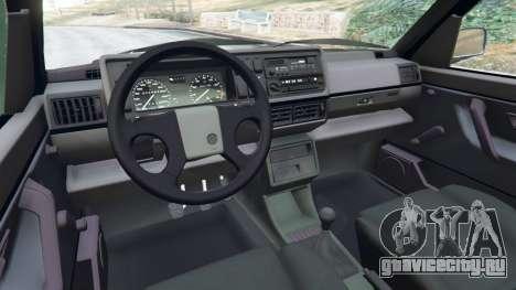 Volkswagen Golf Mk2 GTI для GTA 5 вид справа