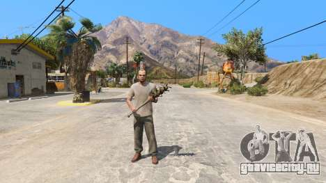 Бейсбольная бита из Saints Row The Third для GTA 5