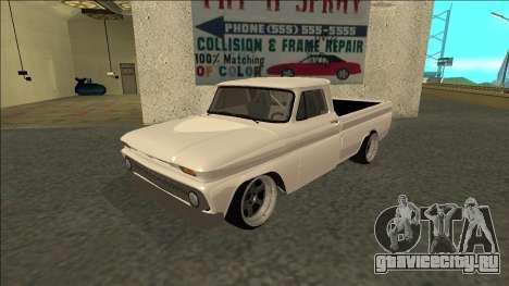 Chevrolet C10 Drift для GTA San Andreas