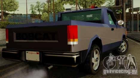 Bobcat from Vice City Stories IVF для GTA San Andreas вид слева
