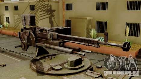 SU-101 122mm from World of Tanks для GTA San Andreas вид сзади