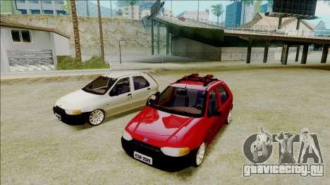 Fiat Palio EDX Turbo Performance для GTA San Andreas