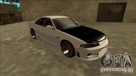 Nissan Skyline R33 Drift для GTA San Andreas вид слева