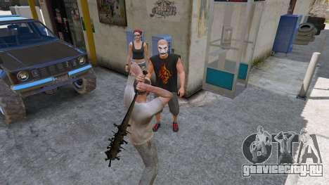 Бейсбольная бита из Saints Row The Third для GTA 5 пятый скриншот