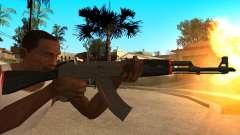 АК-47 Красная Линия из CS:GO