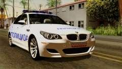 BMW M5 E60 Macedonian Police для GTA San Andreas