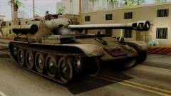 SU-101 122mm from World of Tanks для GTA San Andreas