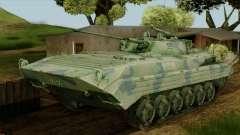 CoD 4 MW 2 BMP-2 Woodland для GTA San Andreas