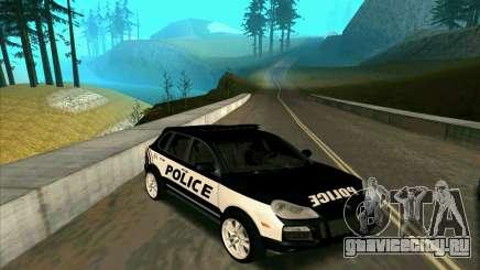 Porsche Cayenne Turbo S Federal Police для GTA San Andreas