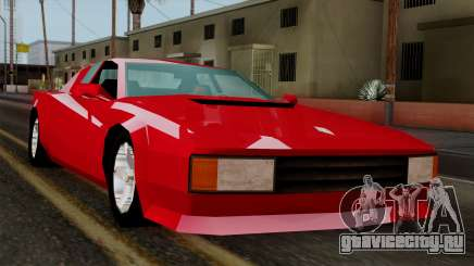 Cheetah from Vice City Stories для GTA San Andreas