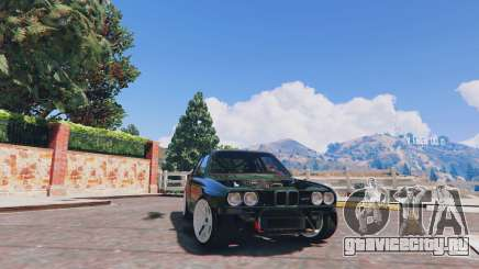 1991 BMW E30 Drift Edition v1.1 для GTA 5