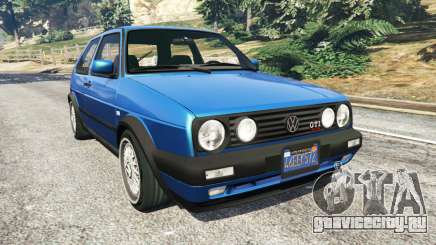 Volkswagen Golf Mk2 GTI для GTA 5