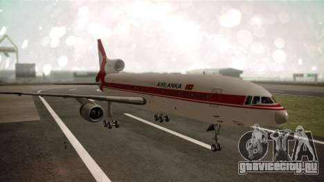 Lockheed L-1011 Air Lanka для GTA San Andreas
