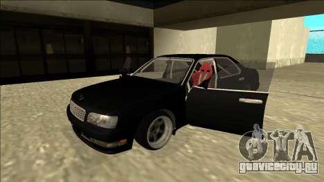 Nissan Cedric Drift для GTA San Andreas вид сзади
