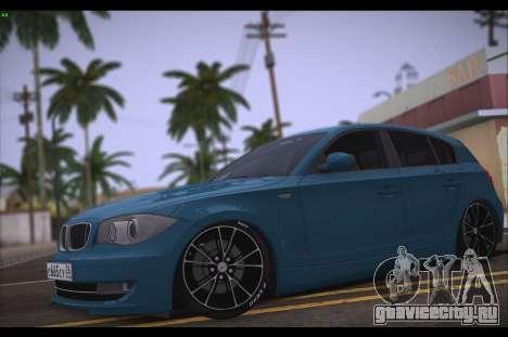 BMW 118i для GTA San Andreas вид слева