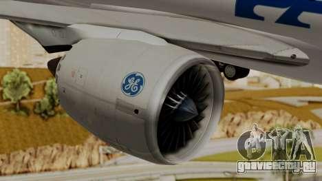 Boeing 787-9 Pan AM для GTA San Andreas вид справа