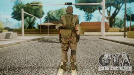 Venom Snake Woodland для GTA San Andreas третий скриншот