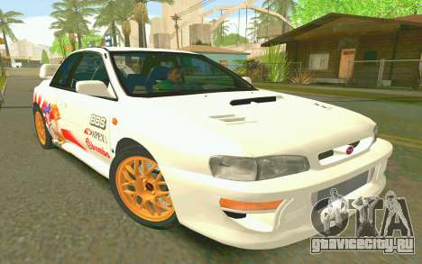Subaru Impreza 22B STI - Itasha для GTA San Andreas