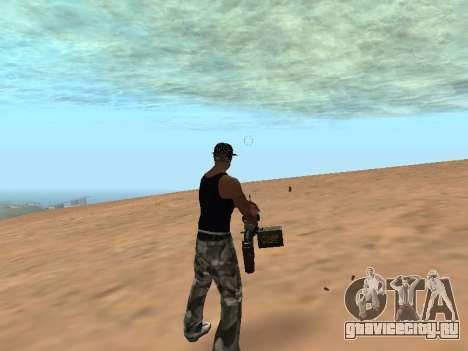 M249 для GTA San Andreas третий скриншот