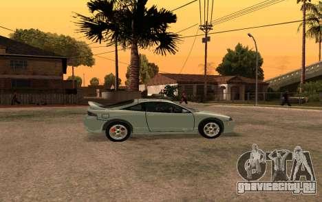 Mitsubishi Eclipse для GTA San Andreas вид слева
