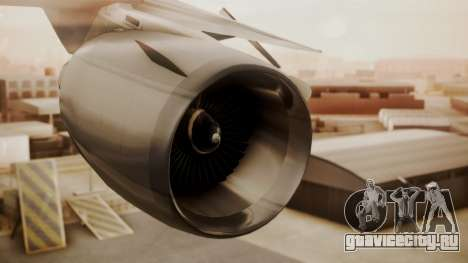 DC-10-10 National Airlines для GTA San Andreas вид справа