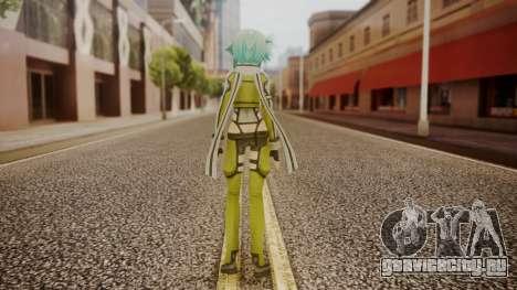 Sinon GGO для GTA San Andreas третий скриншот