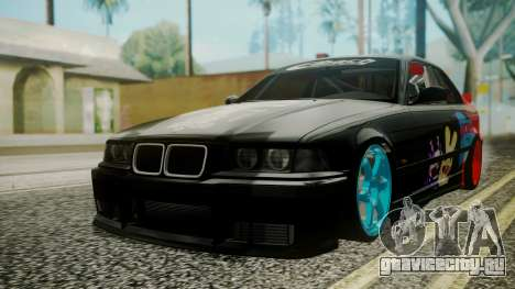 BMW M3 E36 Happy Drift Friends для GTA San Andreas