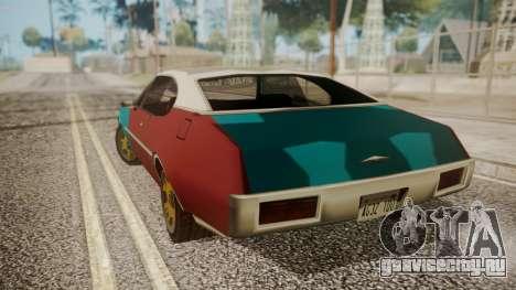 Paul Clover (FnF 7) для GTA San Andreas вид сзади слева