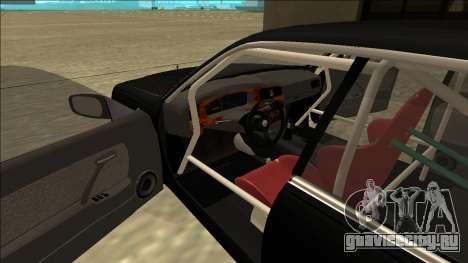 Nissan Cedric Drift для GTA San Andreas вид справа
