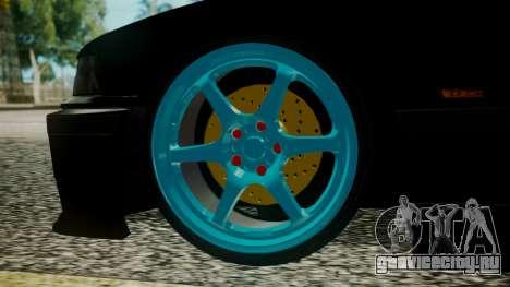 BMW M3 E36 Happy Drift Friends для GTA San Andreas вид сзади слева