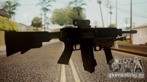 M4 with M26 Mass для GTA San Andreas второй скриншот