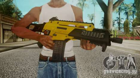 G36C Gold для GTA San Andreas