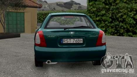 Daewoo Nubira I Hatchback CDX 1997 для GTA 4 вид справа