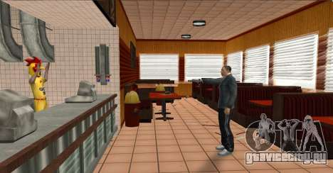 Deagle Styles для GTA San Andreas второй скриншот