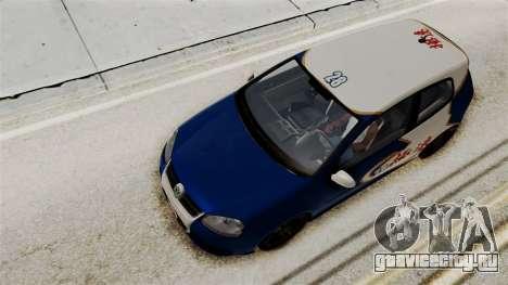 Volkswagen Golf R32 NFSMW05 Sonny PJ для GTA San Andreas вид сбоку