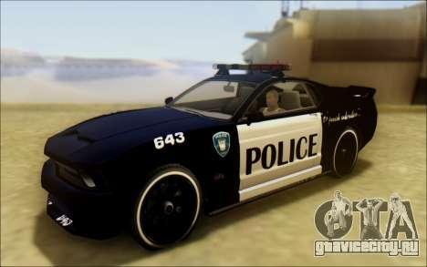 Бессодержательный Доминатор Трансформаторы Полицейский Автомобиль для GTA San Andreas