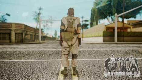 Venom Snake Desert Fox для GTA San Andreas третий скриншот