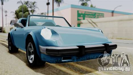 Comet from Vice City Stories для GTA San Andreas вид справа