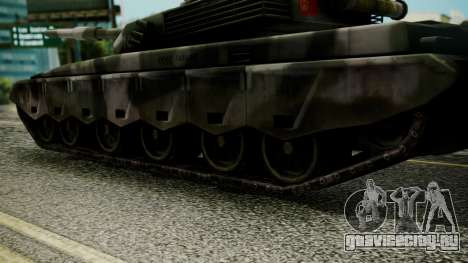 Type 99 from Mercenaries 2 для GTA San Andreas вид сзади слева
