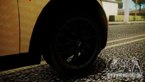 Mini Cooper Clubman 2011 K-ON Ritsu Itasha для GTA San Andreas вид сзади слева