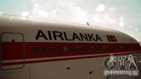Lockheed L-1011 Air Lanka для GTA San Andreas вид сзади